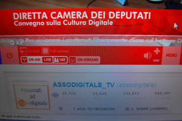 diretta video camera dei deputati michele ficara