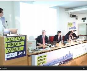 michele ficara e tecnofitness alla social media week 1